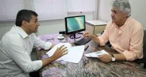 Ouvidor e diretor presidente da Emha planejam ações de fiscalização. Foto:César Krugel