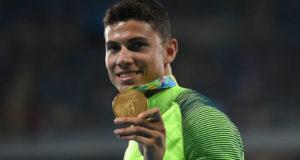 Com recorde olímpico, Thiago Braz supera favorito e é medalha de ouro || Foto: Johannes Eisele/AFP